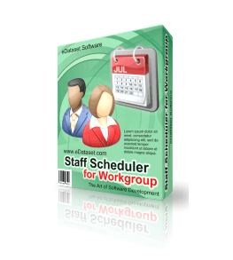 Staff Scheduler for Workgroup 1.7