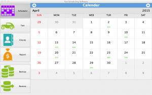 Taxi Scheduling Software For Mac - calendar